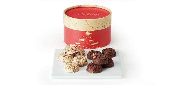 クリスマスフルーツクランチショコラ